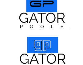#38 для I need a logo and business card designed for my pool service company called gator pools, ideally I'd like the font with a cool cartoon gator with a t shirt on and a pool net or something better if anyone has a better idea. от aminjak