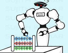#27 for Design a Cartoon: Robotic Hand and Abacus by sujithnlrmail