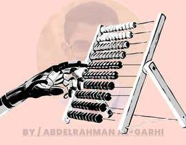 #12 for Design a Cartoon: Robotic Hand and Abacus by agxdesigns