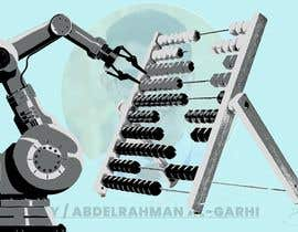 #14 for Design a Cartoon: Robotic Hand and Abacus by agxdesigns