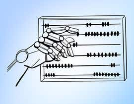 #11 for Design a Cartoon: Robotic Hand and Abacus by theuntitledarts