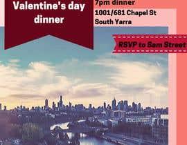 #36 for Invitation flyer for a dinner af ramanydeb