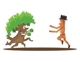 #179 para Make a picture of a tree hugging copper por SM19Creation