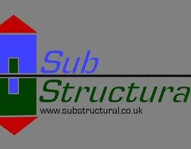#15 para Logo Design for New Company - SubStructural por jchanga85