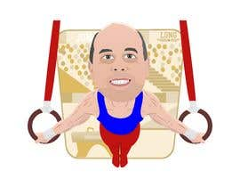 #9 untuk Cartoon Characters from photos doing gymnastics oleh Adriangtx