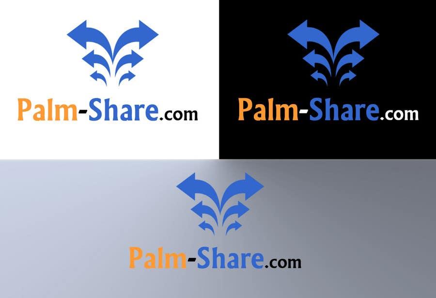 Konkurrenceindlæg #                                        53                                      for                                         Logo Design for Palm-Share website