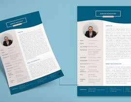 cakidesign tarafından Design a Beautiful looking PDF Dating Resume (No Writing, just design) için no 46