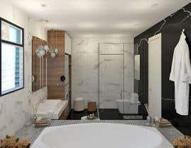 Nro 19 kilpailuun I have a Master Bathroom need to set a nice plan käyttäjältä ssquaredesign