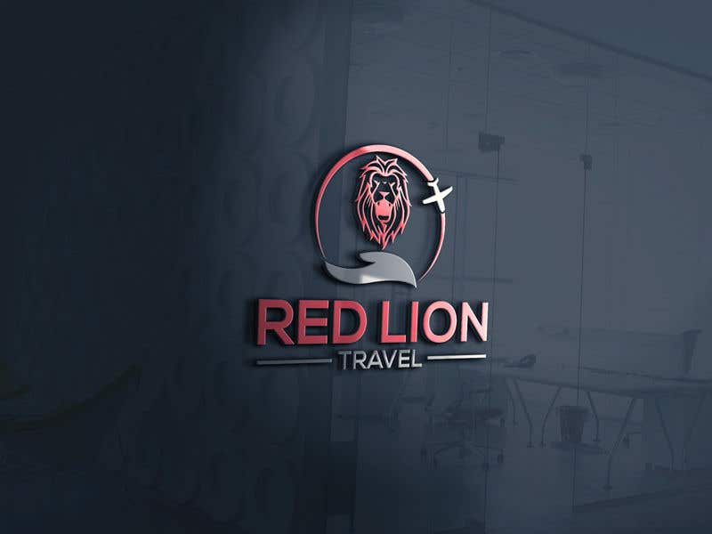 Penyertaan Peraduan #                                        211                                      untuk                                         A logo for Red Lion Travel
