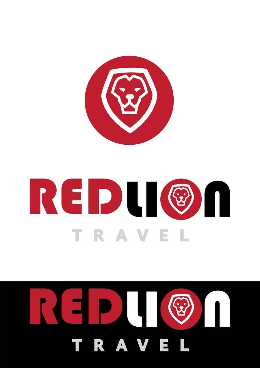 Penyertaan Peraduan #                                        163                                      untuk                                         A logo for Red Lion Travel