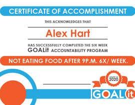 #6 cho AWARD Certificate of accomplishment bởi svenyaffe