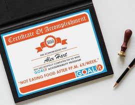 #17 cho AWARD Certificate of accomplishment bởi svenyaffe