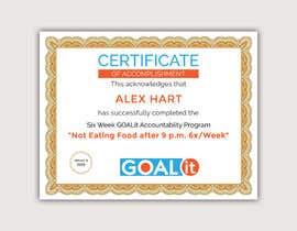 #14 cho AWARD Certificate of accomplishment bởi Heartbd5