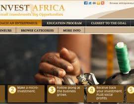 nº 8 pour Graphic Design for Invest Africa par Sp1r1t