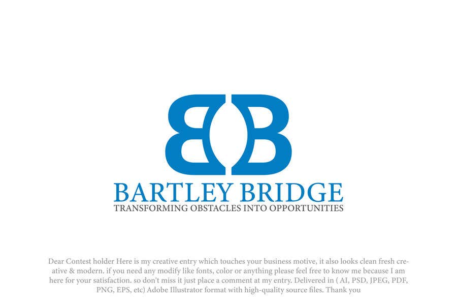 Конкурсная заявка №                                        421                                      для                                         Bartley Bridge Logo Design