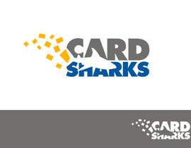#117 cho Logo Design for our new sports card shop!  CARD SHARKS! bởi smarttaste
