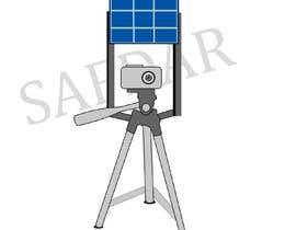 #19 for Sketch Camera with Solar Panel Stand af msafdaar