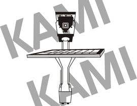 #51 for Sketch Camera with Solar Panel Stand by Kamigraphics99
