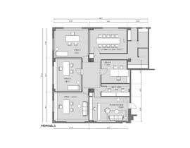 ArielaMartini tarafından Design and Floor Plan for Clinic  - 22/01/2020 13:13 EST için no 19