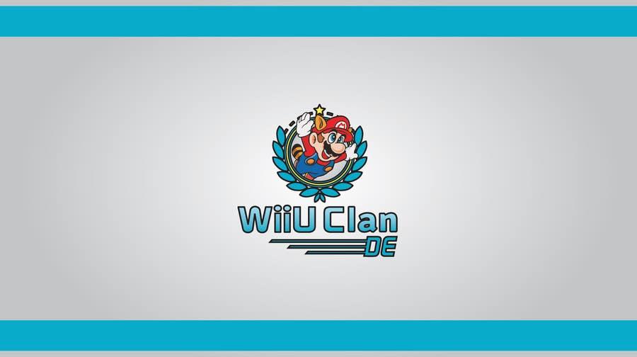 Bài tham dự cuộc thi #                                        6                                      cho                                         Logo Design for Wii U Clan