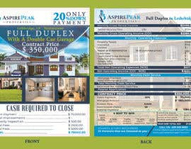#50 for Real Estate Investing Pro-Forma Flyer by amalgupta58
