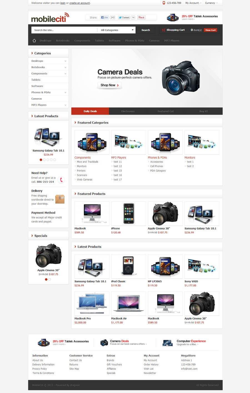 #39 for Website Design for Magento by dragnoir
