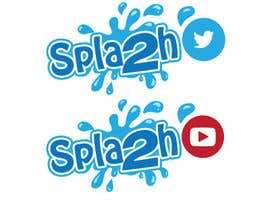 "#7 untuk Set of social logos called ""Splash"" oleh khaldiyahya"