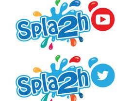 "#8 untuk Set of social logos called ""Splash"" oleh khaldiyahya"