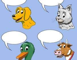 AleksandarVamp tarafından Illustration of four animals için no 61