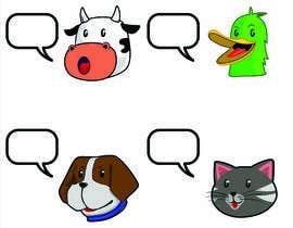 GONZZN13 tarafından Illustration of four animals için no 49