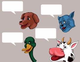 Anandhu650 tarafından Illustration of four animals için no 39