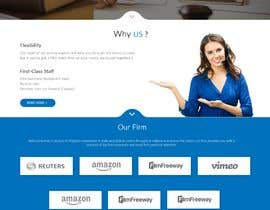 """#30 untuk Professional website for a law firm. Relevant, clean, dark green and grey themes. Technology, """"shelter in the storm"""" themes. Need at least 10 pages. oleh mazcrwe7"""
