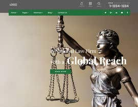 """#1 untuk Professional website for a law firm. Relevant, clean, dark green and grey themes. Technology, """"shelter in the storm"""" themes. Need at least 10 pages. oleh NonikNone"""