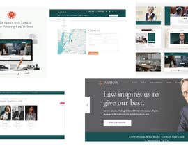 """#3 untuk Professional website for a law firm. Relevant, clean, dark green and grey themes. Technology, """"shelter in the storm"""" themes. Need at least 10 pages. oleh AdriSrivera"""