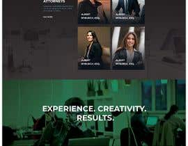 """#8 untuk Professional website for a law firm. Relevant, clean, dark green and grey themes. Technology, """"shelter in the storm"""" themes. Need at least 10 pages. oleh MdFaisalS"""