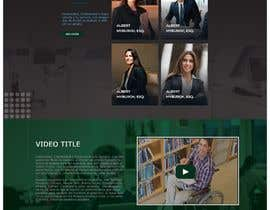 """#9 untuk Professional website for a law firm. Relevant, clean, dark green and grey themes. Technology, """"shelter in the storm"""" themes. Need at least 10 pages. oleh MdFaisalS"""