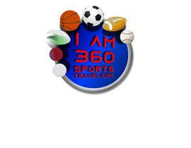 #11 para IAM360SPORTS TRAVEL 3D logo redesign por coisbotha101
