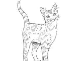 #24 for Digital Artist for Multi-Book Deal - must be able to draw realistic, elegant cats (& other animals) af DorianLudewig