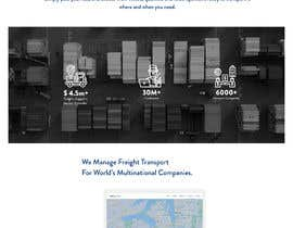 Nro 23 kilpailuun Design Freightlancer.com home pages käyttäjältä niharibhaskar