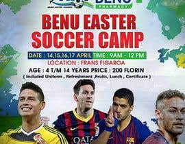 Nro 7 kilpailuun design a soccer flyer käyttäjältä maidang34