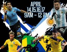 Nro 3 kilpailuun design a soccer flyer käyttäjältä mvictorialedesm4