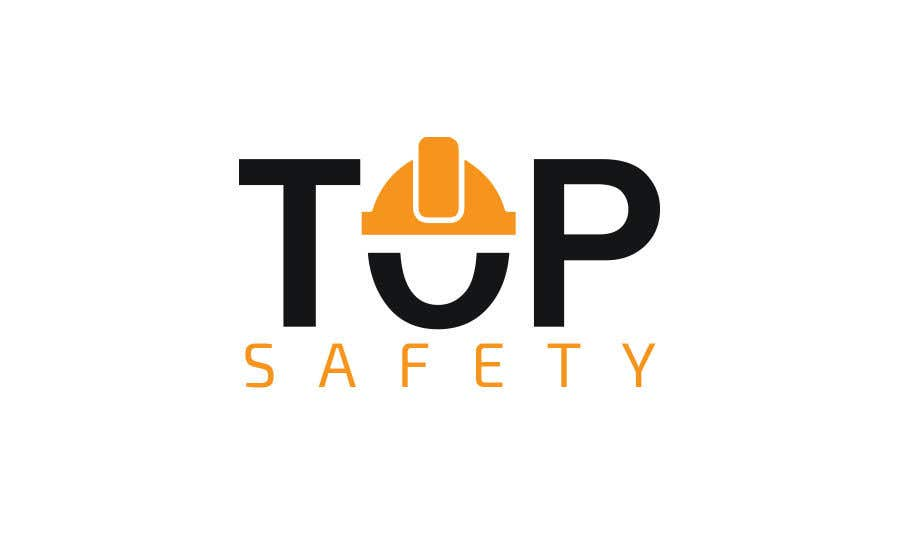 """Contest Entry #                                        16                                      for                                         I need a logo designed for my new business.  """"Top safety"""" the logo should look like a safety/ personal protection wear company using colours like red yellow black deep blue etc. please be creative"""