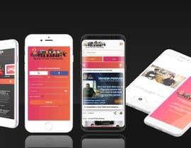 #19 untuk Design an app mockup oleh BeeArtStudio