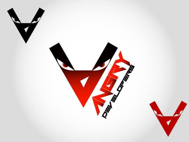 Inscrição nº                                         35                                      do Concurso para                                         Logo Design for Angry Developers