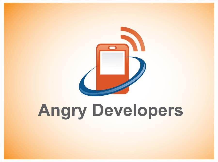 Inscrição nº                                         47                                      do Concurso para                                         Logo Design for Angry Developers
