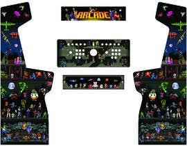 #6 cho Custom full-sized arcade cabinet side/front art and backlit marquee bởi Produccionessiri