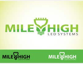 nº 88 pour Logo Design for Mile High LED Systems par mdmonirhosencit