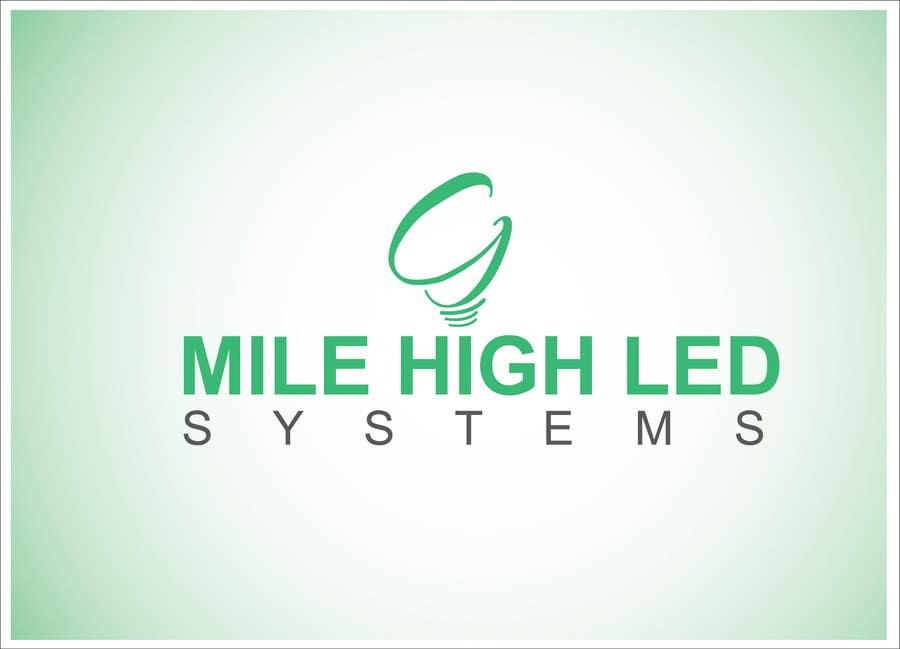 Inscrição nº                                         94                                      do Concurso para                                         Logo Design for Mile High LED Systems