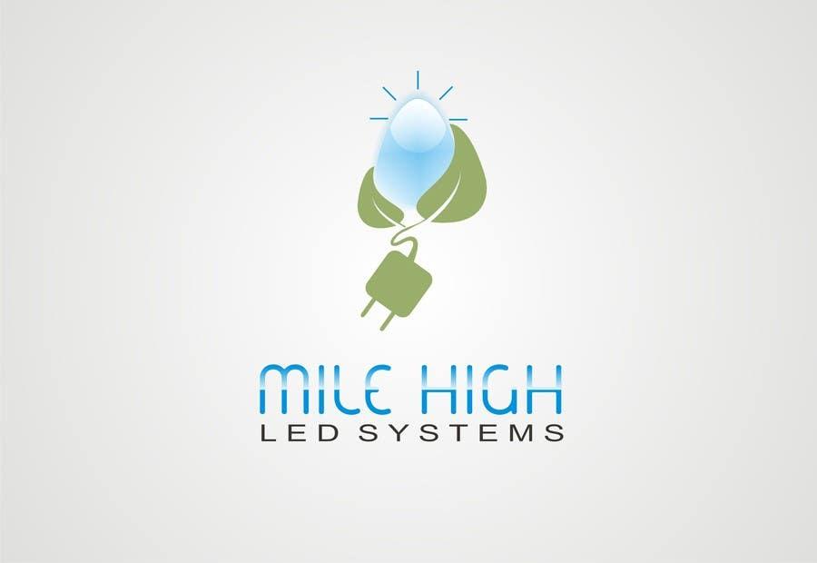 Inscrição nº                                         70                                      do Concurso para                                         Logo Design for Mile High LED Systems
