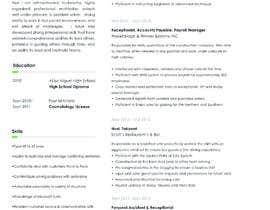 #235 untuk Professional resume design oleh medozhasa